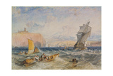 Whitby, 1824 Giclee Print by Joseph Mallord William Turner