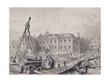 Fishmongers' Hall from North East, London, C1835 Giclee Print by John Woods