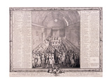 House of Lords, Palace of Westminster, London Giclee Print by John Pine