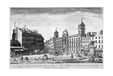 View of Northumberland House, Charing Cross, Westminster, London, 1794 Giclee Print by John Bowles