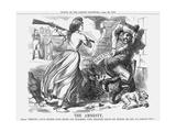The Amnesty, 1863 Giclee Print by John Tenniel