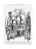 Extremes Must Meet; Or, a Bit of Practical Science, 1867 Giclee Print by John Tenniel