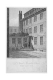 View of No 8 Bolt Court, Where Dr Samuel Johnson Lived, City of London, 1835 Giclee Print by John Thomas Smith