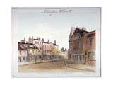 View of Walworth Village, Southwark, from the North Entrance, London, 1825 Giclee Print by John Hassell