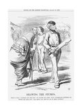 Drawing the Stumps, 1862 Giclee Print by John Tenniel