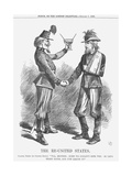 The Re-United States, 1865 Giclee Print by John Tenniel