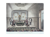 Drawing of the State Lottery, Coopers' Hall, London, 1809 Giclee Print by Joseph Constantine Stadler