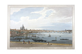 Blackfriars Bridge, London, 1795 Giclee Print by Joseph Constantine Stadler