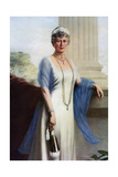 Mary of Teck, Queen Consort of George V of the United Kingdom, 1937 Giclee Print by John Saint-Helier Lander