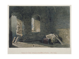 Interior View of a Tower Belonging to London Wall at Old Bailey, City of London, 1851 Giclee Print by John Wykeham Archer