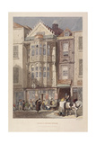 Paul Pindar Tavern, Bishopsgate, London, 1851 Giclee Print by John Wykeham Archer