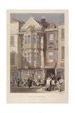 Paul Pindar Tavern, Bishopsgate, London, 1851 Giclee Print by John Wykeham Archer