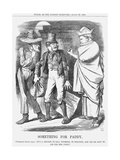 Something for Paddy, 1864 Giclee Print by John Tenniel