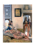 Life in the Hareem, 1858 Giclee Print by John Frederick Lewis