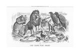 The Lions Just Share, 1882 Giclee Print by Joseph Swain