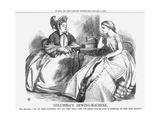 Columbia's Sewing-Machine  1864
