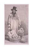 Staffordshire Ware, Cries of London, 1819 Giclee Print by John Thomas Smith