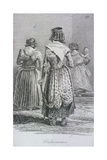 Washerwomen, Cries of London, (C1819) Giclee Print by John Thomas Smith