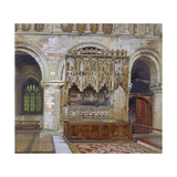 Rahere's Tomb, St Bartholomew's Priory, City of London, 1880 Giclee Print by John Crowther