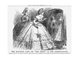 The Haunted Lady, or the Ghost in the Looking-Glass, 1863 Giclee Print by John Tenniel
