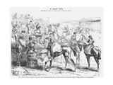 A Ladies' Race, 1872 Giclee Print by Joseph Swain