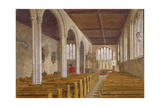 Interior View of the Chapel of St Peter Ad Vincula, Tower of London, Stepney, London, 1883 Giclee Print by John Crowther