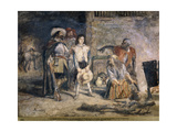 Gil Blas Taken Prisoner, 1892 Giclee Print by John Gilbert