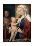 The Holy Family, Between 1464 and 1540 Giclée-Druck von Joos Van Cleve