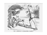 The American Gladiators - Habet!, 1865 Giclee Print by John Tenniel