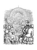 Albert (1819-186), Prince Consort of Queen Victoria, at the Great Exhibition, 1851 Giclee Print by John Tenniel