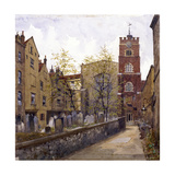 St Bartholomew's Priory, London, 1880 Giclee Print by John Crowther