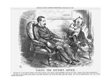 Taking the Doctor's Advice, 1863 Giclee Print by John Tenniel
