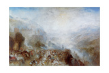 Heidelberg, C1844-1845 Giclee Print by Joseph Mallord William Turner