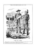Cape to Cairo, 1899 Giclee Print by John Tenniel