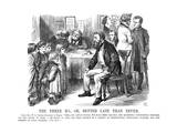 The Three R's or Better Late Than Never, 1870 Giclee Print by John Tenniel