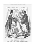 The Election Budget, 1865 Giclee Print by John Tenniel