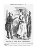 The Wrong of Search, or the Luggage Question, 1867 Giclee Print by John Tenniel