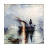 Peace, Burial at Sea, C1842 Stampa giclée di Joseph Mallord William Turner