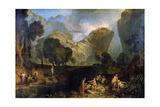 The Goddess of Discord Choosing the Apple of Contention in the Garden of the Hesperides, 1806 Giclee Print by Joseph Mallord William Turner