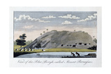 View of the Blue Bergh Called, Mount Parnassus, 1813 Giclee Print by John Gabriel Stedman