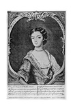 Margaret 'Peg' Woffington (1720-176), Irish Actress, 18th Century Giclee Print by John Brooks