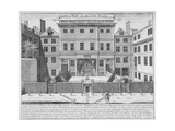 Justice Hall, Old Bailey, City of London, Pre 1737 Giclee Print by John Bowles