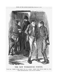 The New Workhouse Porter, 1866 Giclee Print by John Tenniel