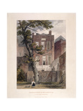 View of Milton's Residence, Petty France, Westminster, London, 1851 Giclee Print by John Wykeham Archer