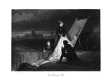 The Plague Pit, 1855 Giclee Print by John Franklin