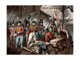 The Duke of Wellington at the Taking of Ciudad Rodrigo, Spain, Peninsular War, 1812 Giclee Print by Joseph Constantine Stadler