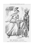 The Abyssinian Question, 1867 Giclee Print by John Tenniel