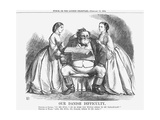 Our Danish Difficulty, 1864 Giclee Print by John Tenniel