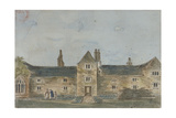 Ellis Davy's Almshouses, Croydon, Surrey, C1800 Giclee Print by John Hassell