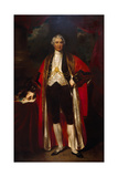 Sir George Carroll, Sheriff 1837-8 Giclee Print by John Wood